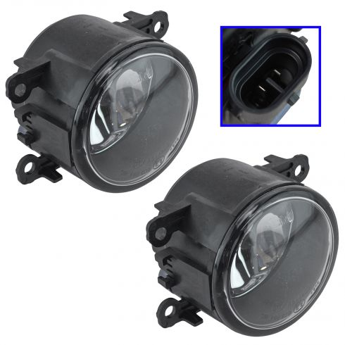 05-15 Ford Multifit; 07-14 Navigator Fog Driving Light (w/o Bezel or Bracket) Pair (Ford)