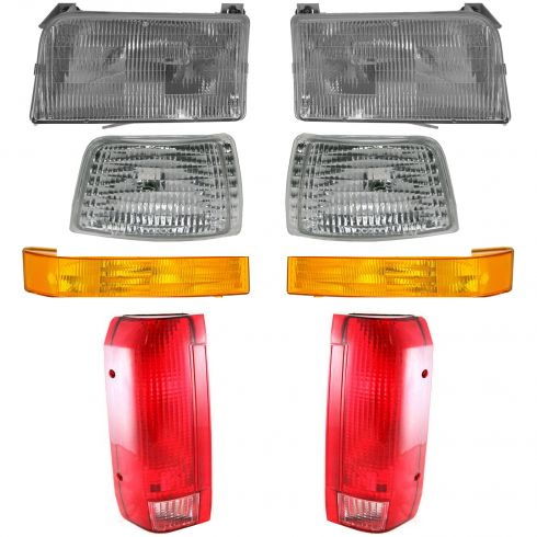 1992-97 Ford Bronco PU Basic Set Light Kit