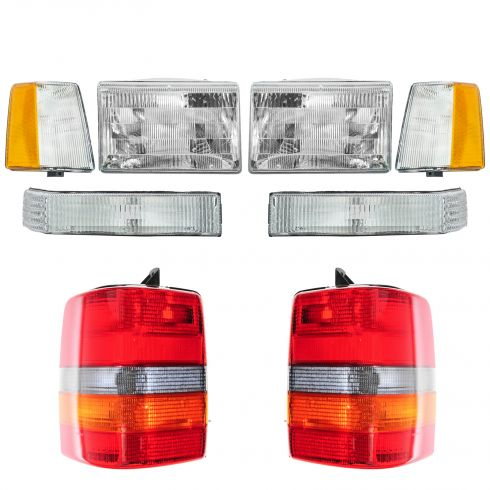 1993-96 Jeep Grand Cherokee Basic Set Light Kit