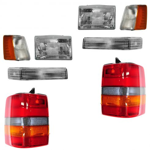 1997-98 Jeep Grand Cherokee Basic Set Light Kit