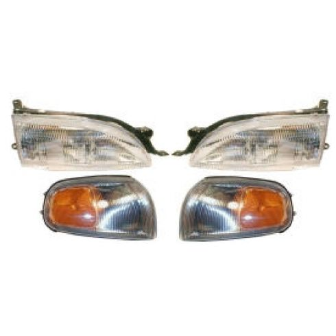 Composite Headlight LH