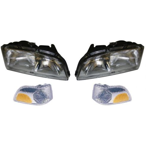 1998-00 Volvo 70 Series; 2001-02 Volvo C70 Headlight & Parking Light Kit (SET of 4)