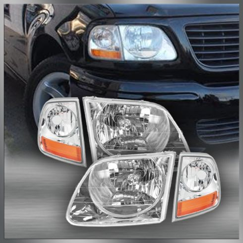 01-03 Ford Lightning Headlight & Marker Light Kit