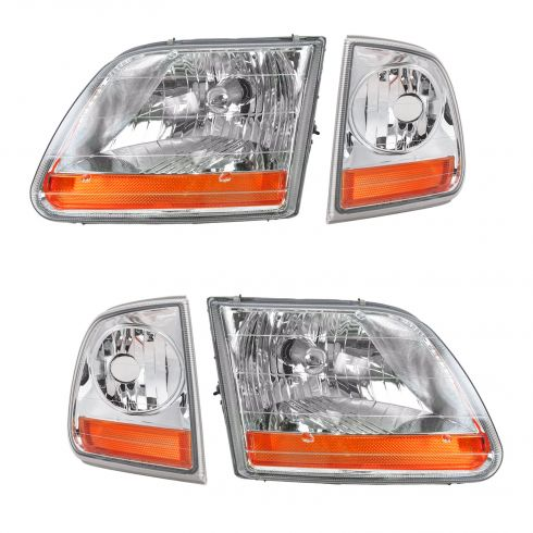 Headlight & Parking Light Set