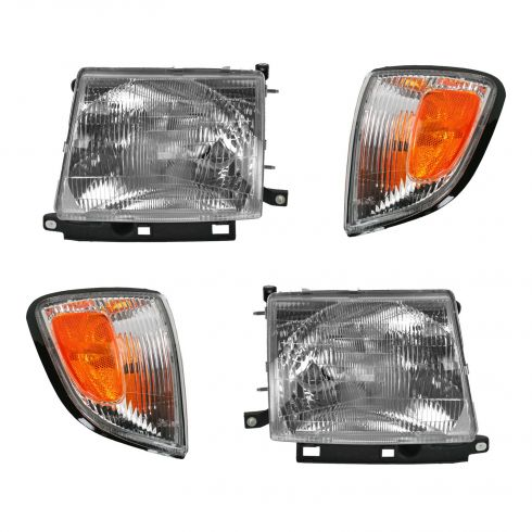 Headlight & Corner Parking Light Set