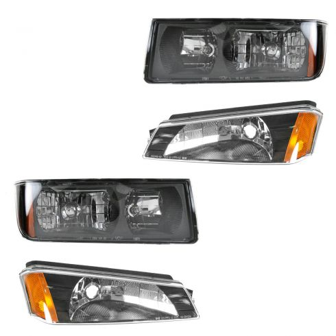 02-05 Avalanche Headlight & Park Light Kit (Set of 4)