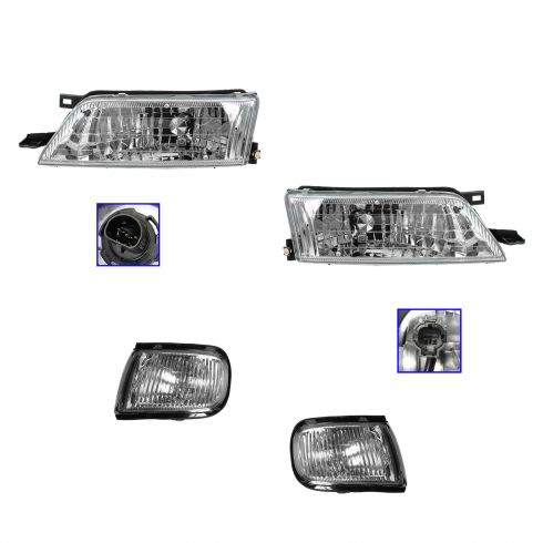97-99 Nissan Maxima Headlight & Corner Light Kit