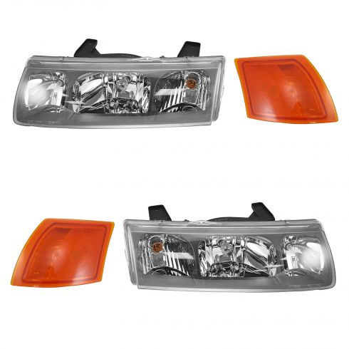 2002-04 Saturn Vue Headlight & Corner Light Kit