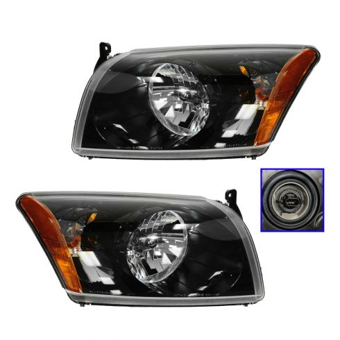 07-12 Dodge Caliber Performance Headlight Pair