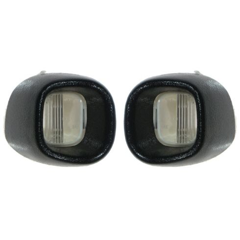 1998-05 GM Mid Size PU & SUV Rear License Plate Lens Assy PAIR