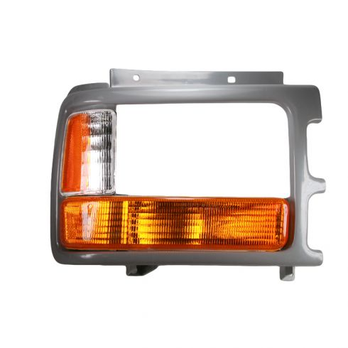 Headlight Door Cover Primered Passenger Side