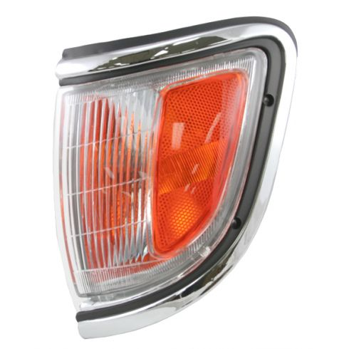 95-96 Toyota Tacoma Signal Light Chrome LH
