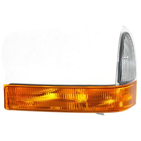 2001 Ford F250SD-F550SD Parklamp/Turn Signal; (Below hdlp), w/amber lens LH