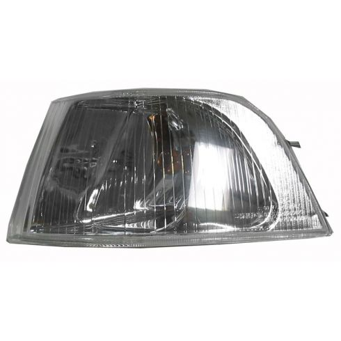 01-04 Volvo S40 Corner Parking Light w/Chrome Bezel LF