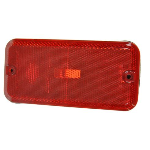 85-96 Chevy GMC Endura Van Rear Side Marker Light LR = RR