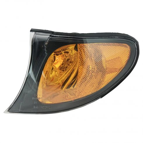2002-05 BMW 3 Series Sedan & SW Corner Light w/Yellow Trim LF