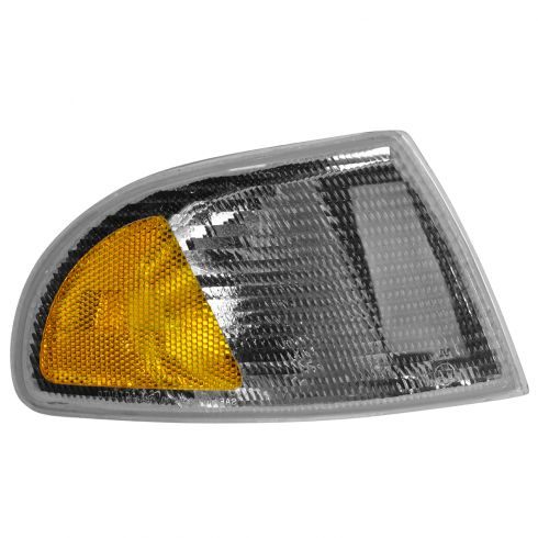 96-98 Audi A4, 99 (thru VIN 199999) A4 Corner Parking Light w/Black Trim (Fender Mtd) RF