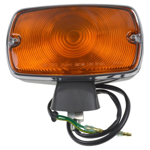 70 (frm 7/70)-74 Toyota FJ40 Land Cruiser Fender Mounted Turn Signal Light Assembly LF = RF (Toyota)