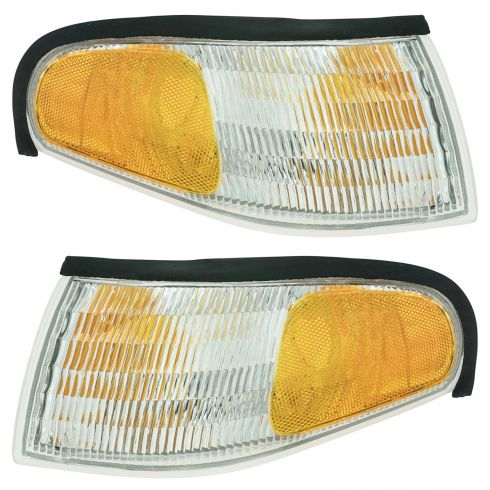 1994-98 Ford Mustang Corner Parking Lamp Pair