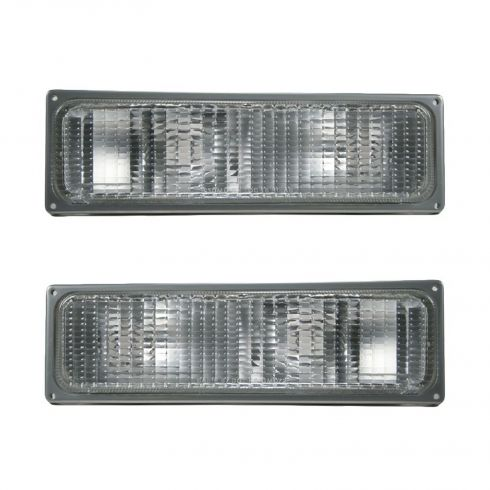 1988-93 Chevy GMC CK Pickup Blazer Jimmy Suburban Parking Light Pair