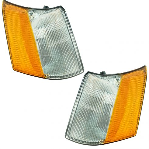 1993-98 Jeep Grand Cherokee Wagoneer Side Marker Lamp Pair
