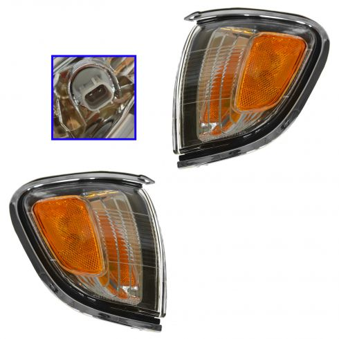 01-04 Toyota Tacoma Fdr Mtd Park Light Pair