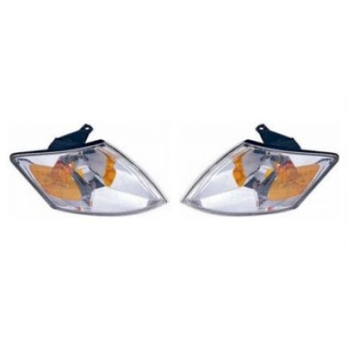 2000-01 Mazda MPV Van Corner Parking Light Pair