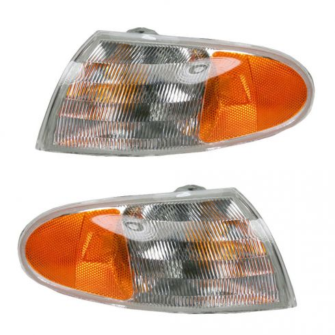 Contour parking lamp Pair