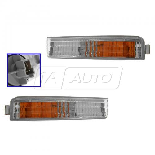 90-91 Accord Bmp Mtd Park Light Pair
