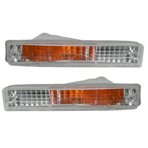 90-91 Civic Bmp Mnt Light Pair