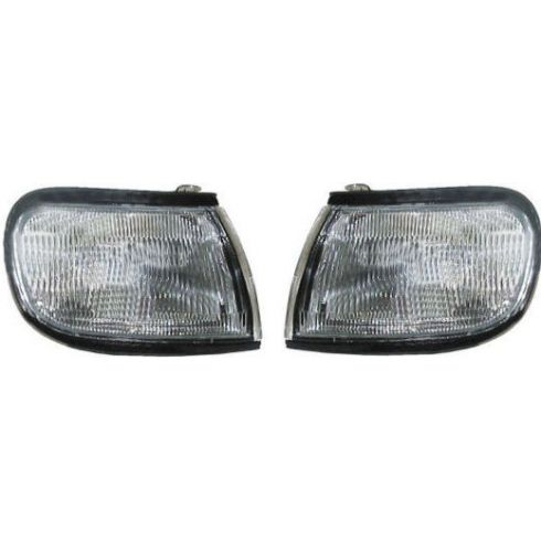 1995-96 Nissan Maxima Corner Side Marker Light Pair