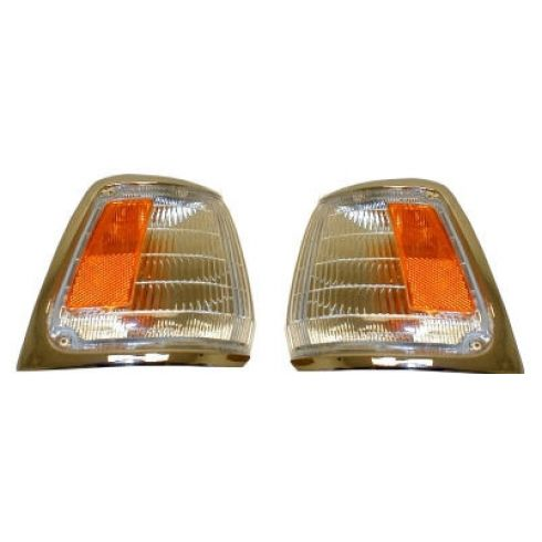 89-91 2wd Toy Pu Chm Crn L Pair