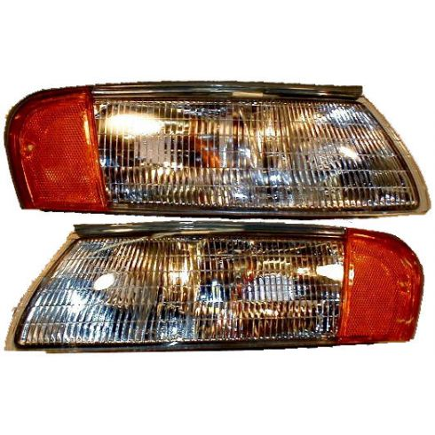 92-95 Taurus SHO Sable Side Marker Cornering Lamp Pair