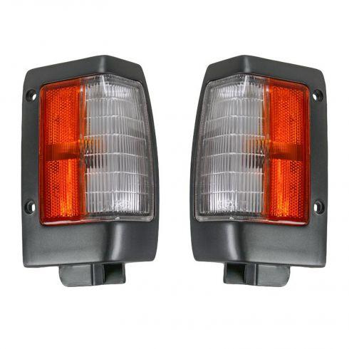 90-97 Nissan PU Blk Cnr Lt LH