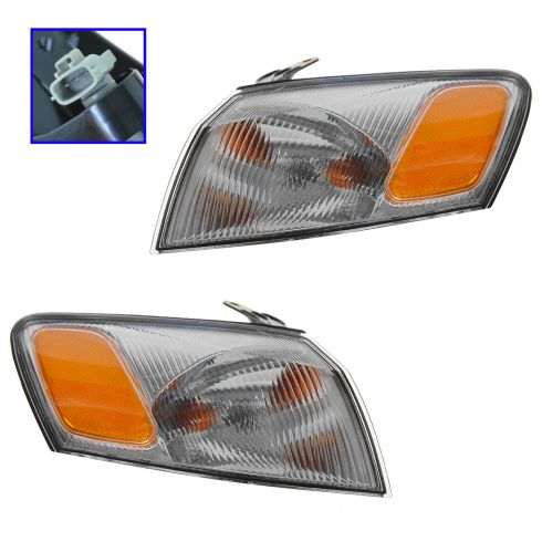97-99 Camry Fdr Mtd Park Light/Turn Signal Pair
