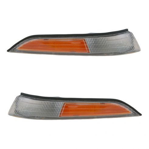 Parklamp/Turn Signal; outer Pair