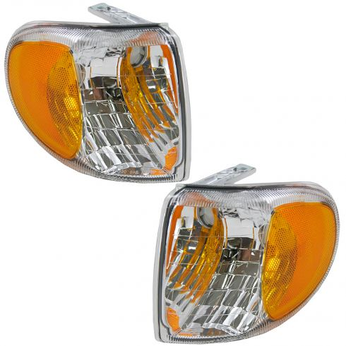 98-01 Mercury Mountaineer Corner Light Pair