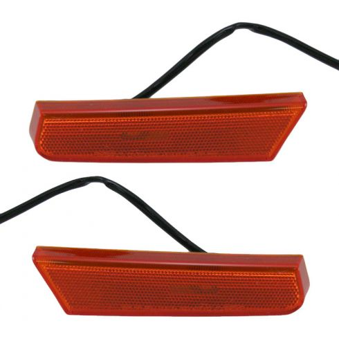 02-04 Nissan Xterra Fnd Mtd Side Marker Light Pair