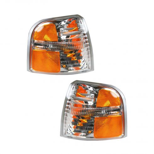 2002-05 Ford Explorer Parking and Turn Signal Light Pair