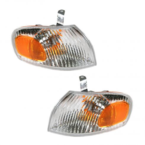 1998-02 Geo Prizm Turn Signal Light Pair