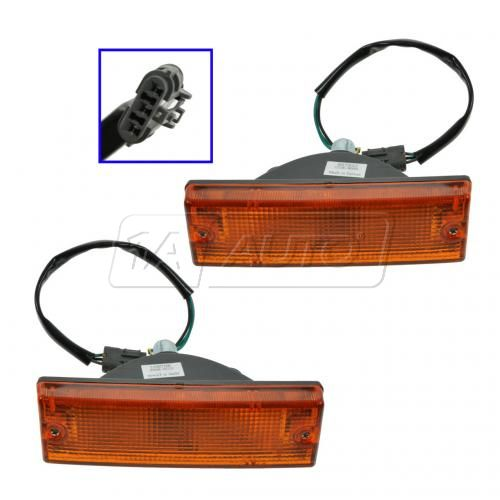 1991-97 Isuzu Rodeo Turn Signal Light Pair