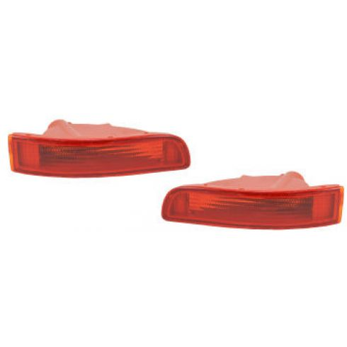 95-99 Nissan Maxima Signal Light Bumper Mounted Front Pair