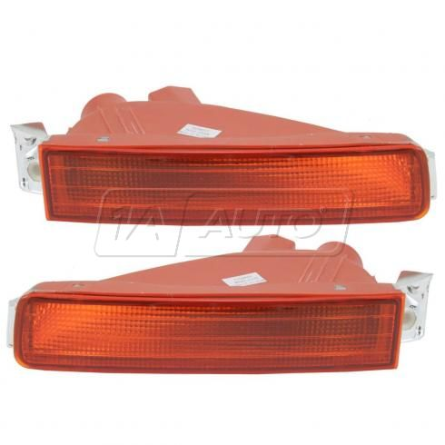Marker Light Bumper Mount Inner Front Pair