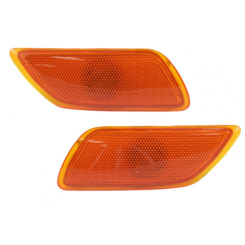 00-05 Ford Focus Signal Light Bumper Mounted Pair