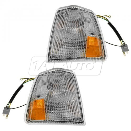 1986-93 Volvo 240 Corner Parking Light PAIR
