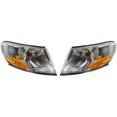 99-03 Saab 9-3 Corner Light (Fender Mounted) PAIR