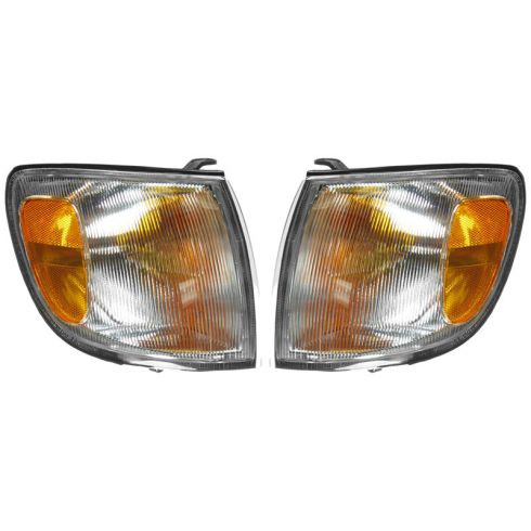 98-00 Toyota Sienna Corner Parking Light Front PAIR