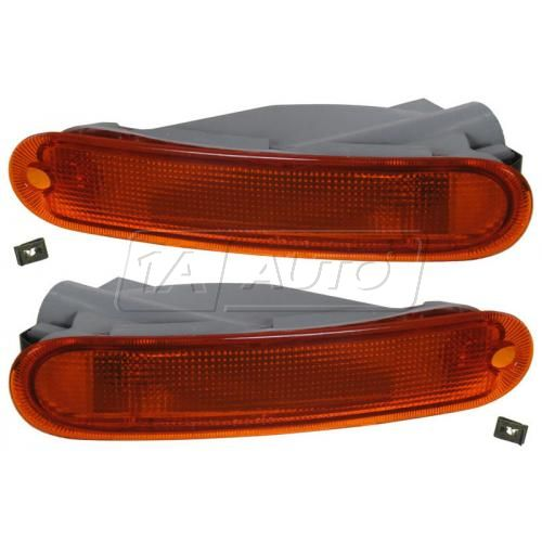 97-00 Dodge Avenger Sebring Coupe Parking Signal Light Front PAIR
