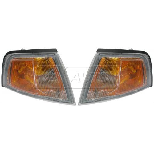 97-02 Mitsubishi Mirage Coupe Parking Signal Light Front PAIR