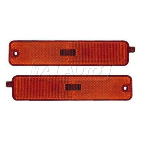 95-99 Pontiac Sunfire GT Side Marker Light (Bumper Mtd) PAIR